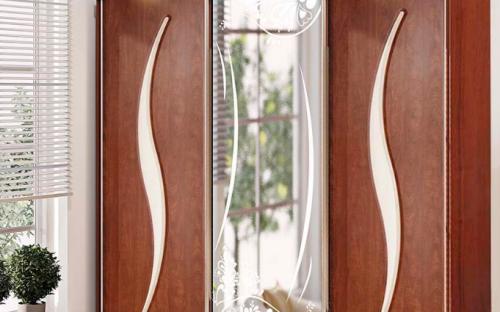 шкаф-купе с зеркалом купить