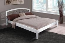 Купить двуспальную кровать с ковкой