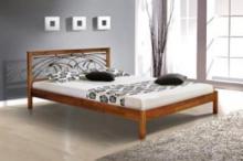 Двуспальная кровать с ковкой