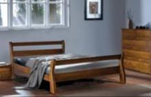 Купить двуспальную кровать из ольхи