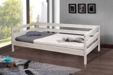 Односпальная кровать из ольхи купить
