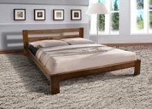 Двуспальная кровать из ольхи