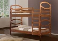 Двухъярусная кровать из ольхи купить