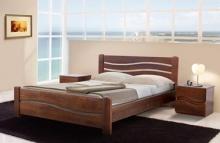 Двуспальная кровать из натурального дерева ясень купить